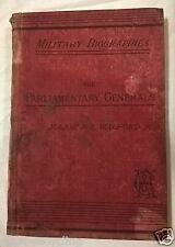 MILITARY BIOGRAPHIES - The Parlimentary Generals of the Great Civil War