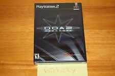 Dead or Alive 2 DOA2: Hardcore (Playstation 2 PS2) NEW SEALED Y-FOLD W/UPC MINT!