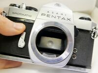 Pentax SP Spotmatic 35mm SLR Film Camera Body Only Meter not working AS IS PARTS