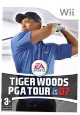 Wii & Wii U-Tiger Woods PGA Tour 07 (2007) ** nuevo Y Sellado ** existencias oficiales del Reino Unido