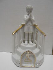 San Francisco Music Box Co First Holy Communion The Lords Prayer Boy