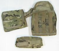 Military SEKRI 3pc IFAK II USGI First Aid Kit Multicam w/Pouch & Insert C5
