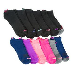 AVIA Women's Navy 12 Pair No Show Socks Sz 4-10 NEW