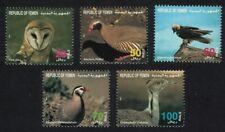 Yemen Owl Partridge Lammergeier Bustard Birds 5v 1996 ** MNH SG#191-195 CV£18.45