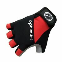 Optimum Sport Hawkley Stretch Back Palm Padding Half Finger Cycling Gloves