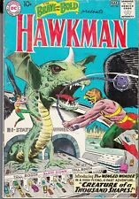 BRAVE AND THE BOLD #34 DC Key Issue 1st Silver Age Hawkman Hawkgirl 1961 Kubert