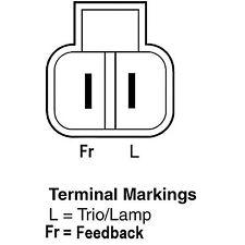 Remy 11079 Remanufactured Alternator