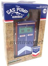 GREENLIGHT 14010 C 1954 TOKHEIM 350 TWIN GAS PUMP STANDARD OIL FOR 1/18 Chase