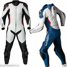 BMW MOTOGP Motorcycle Leather Suit Racing Cowhide Motorbike Leather Suit XS-4XL