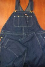 Dickies Classic Work Bib Overalls 2XL Denim Blue