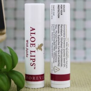 Forever Living Aloe Lips - Lip Balm With Jojoba-FAST Delivery - Choose 1, 2 or 3