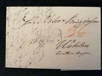 Vorphilatelie Altdeutschland - Brief Faltbrief von 1844(?)    Nr.4