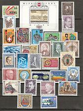 Österreich 1981 Kompletter Jahrgang Postfrisch ** MNH
