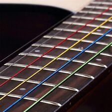 6pcs/set Fashion Steel Rainbow Colorful Color Strings for Acoustic Guitar US