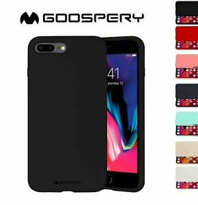 Silicone Case For iPhone New SE 7 8 Plus 6 6s Cover Shockproof Apple Soft Slim