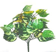 Artificial Pothos Bush Plant - Decorative Greenery and Plants from Shelf Edge