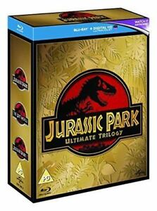 JURASSIC PARK TRILOGY 3 DISC ULITMATE EDITION BLU RAY BOXSET NEW SEALED