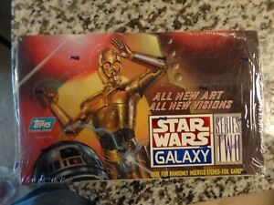 Topps Star Wars Galaxy Series 2 II  - Sealed  Box  Free shipping
