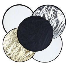Deco Gear 23-inch / 60cm 5-in-1 Collapsible Multi-Disc Light Reflector for Pro P