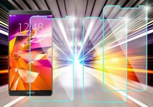 3x Huawei Mate 8 Schutzglas Tempered Glass 9H Schutzfolie Displayschutz