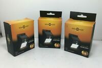 3 Pack Solarblaze LED Solar Power Motion Sensor Wall Light Waterproof Garden