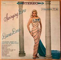 DIANA DORS Swingin' Dors   COLUMBIA 8232 SIX STEREO DG 1959 LP CHEESECAKE  VG++