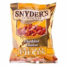 6x Snyder's Pretzel Pieces Bretzelstücken (Honey Mustard, Cheddar, Jalapeno)