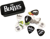 THE BEATLES 1CAB4-15BT1 GUITAR PICKS by PLANET WAVES PICK TIN 15 x PLECTRUMS