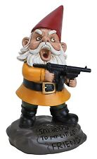 NEW  - Big Mouth Toys Angry Garden Gnome - FREE SHIPPING