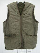 I8782 VTG Barbour Men's Polarquilt Zip-In Waistcoat Vest Size M
