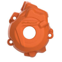 Polisport MX Bike Ignition Cover Protector - KTM SXF250 13-15, SXF350 12-15 - Or