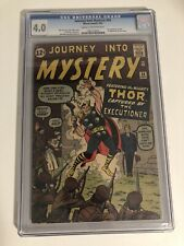 Journey Into Mystery 84 CGC 4.0 - 2nd Thor & First Appearance Of Jane Foster!