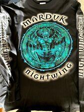 Marduk Nightwing LS Shirt XL Dark Funeral Mist 1349 Gorgoroth Mayhem