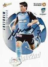 ✺Signed✺ 2008 2009 SYDNEY FC A-League Card ROBBIE MIDDLEBY