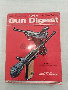 Vintage Gun Digest 1964 Trade Paperback by John T. Amber 18th Anniversary