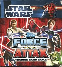 Star Wars Force Attax Series 3 Factory Sealed Hobby Box 50 Packs