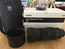 Sigma Canon EF 150-600mm F/5-6.3 AF Lens For Canon