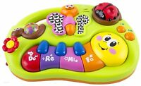 Early Education 6 Months Olds Learning Machine Toy with Lights/Music Songs/Story