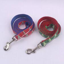 Brand New Nylon&Polyester leash/lead for Small or Medium Pet Christmas Tree Logo