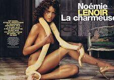 COUPURE DE PRESSE CLIPPING 2004 Néomie Lenoir  (4 pages) LA CHARMEUSE