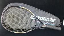 "ESTUSA XLG Extra Lite High Modulus Graphite Tennis Racquet & case w/4 1/4"" Grip"
