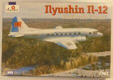 Amodel 1/144 IL12 Nato Coach Soviet Passenger Transport Aircraft Model Kit 1443