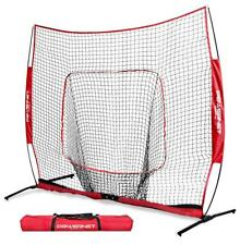 PowerNet 8x8 XLP PRO Baseball Softball Practice Hitting Batting Net Team Colors