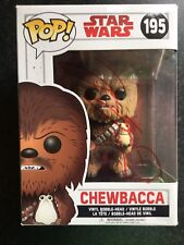 Star Wars Signed Funko Pop- Chewbacca- Joonas Suotamo