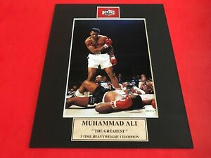 Muhammad Ali Signed 5x7 Photo with Certificate of Authenticity