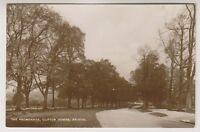 Gloucestershire postcard - The Promenade, Clifton Downs, Bristol - RP (A78)