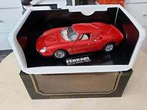 Bburago Burago Ferrari 250 Le Mans Rot Sondermodell für AUCHAN Frankreich OVP
