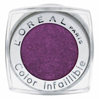 1 x L'OREAL INFALLIBLE EYESHADOW SINGLE POT ❤ 005 PURPLE OBSESSION ❤ GLOSSI