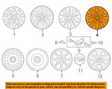 SUBARU OEM 15-16 Outback-Wheel-Alloy Aluminum 28111AL03A