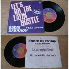 EDDIE DRENNON & BBS UNLIMITED-Let's Do The Latin Hustle French PS Disco Funk